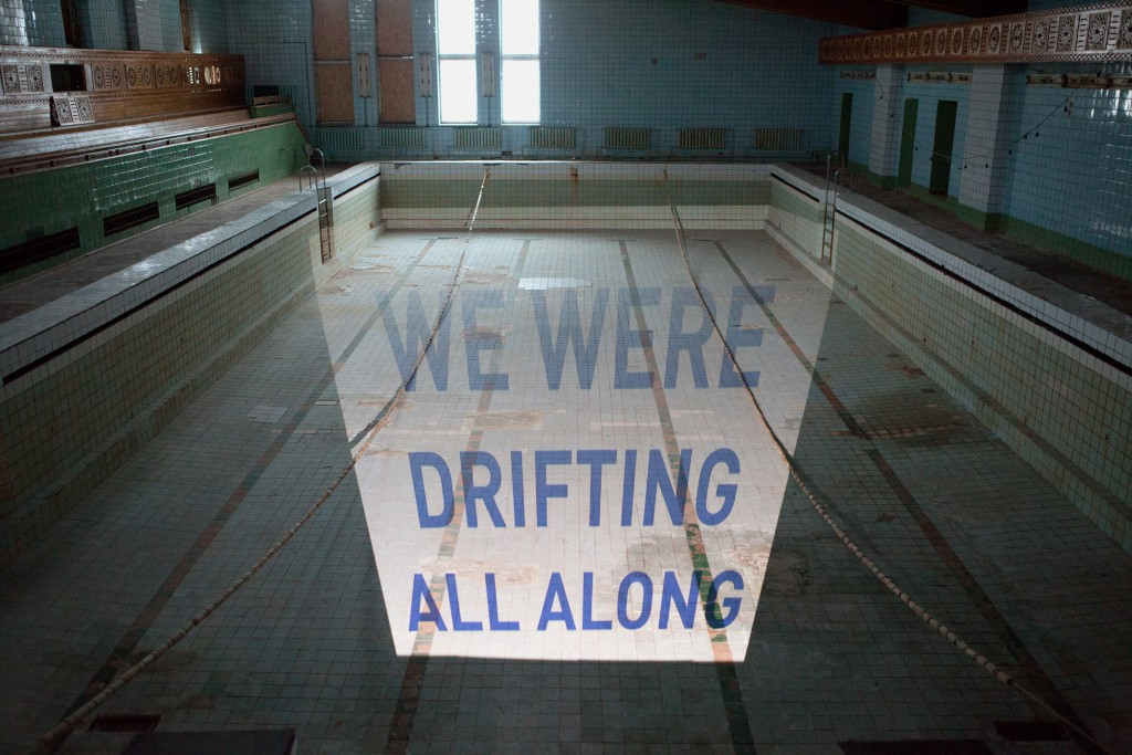 We were drifting all along, Pyramiden